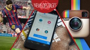 News des Tages: Facebook zwingt zum Messenger, Instagram Sicherheitslücke, FIFA 15 mit Transfermarkt