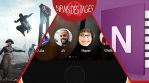 News des Tages: Bolt Messenger-App, OneNote für iOS und Mac, Assassin's Creed: Unity