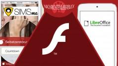 News des Tages: WhatsApp-Killer der Deutschen Post, Flash Player Sicherheits-Update und LibreOffice für Android