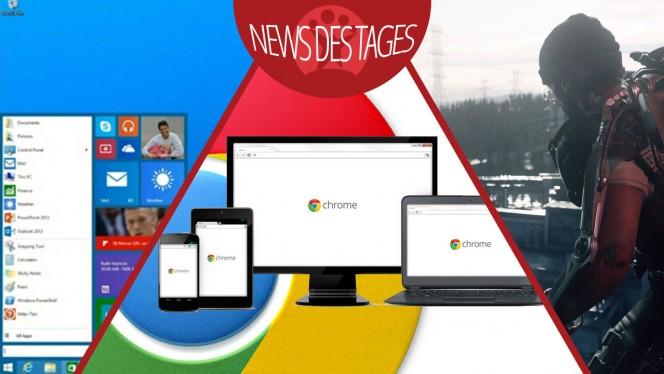 News des Tages: Vorschau auf Windows 9, Google Chrome blockiert Schadsoftware, Call of Duty: Advanced Warfare