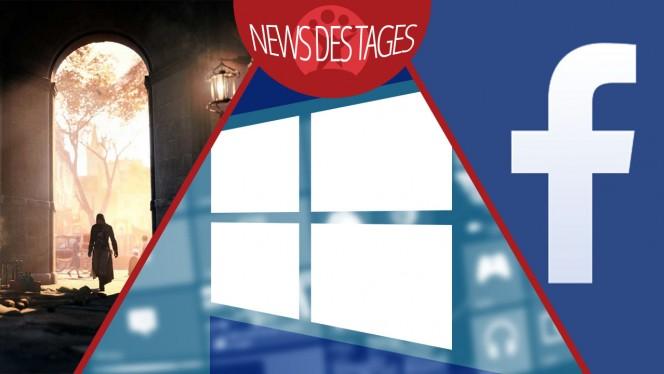 News des Tages: Windows Sicherheitsupdate, Facebook-Suche, Assassin's Creed: Unity