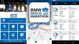 41. Berliner Marathon: Mit der App bleiben Sie auf dem Laufenden