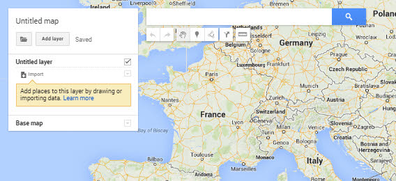 Google My Maps overview