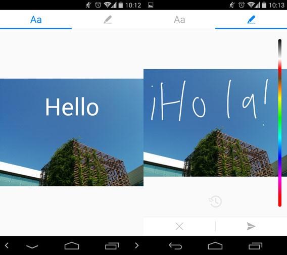 Facebook Messenger: Bilder vor dem Verschicken mit Zeichnungen und Text versehen