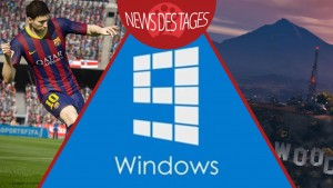 News des Tages: Windows 9 mit Benachrichtigungscenter, FIFA 15, Grand Theft Auto V