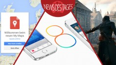 News des Tages: iOS 8 startet heute, Google My Maps, Assassin's Creed: Unity