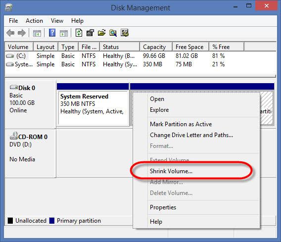 Install Windows 10 dual boot_03