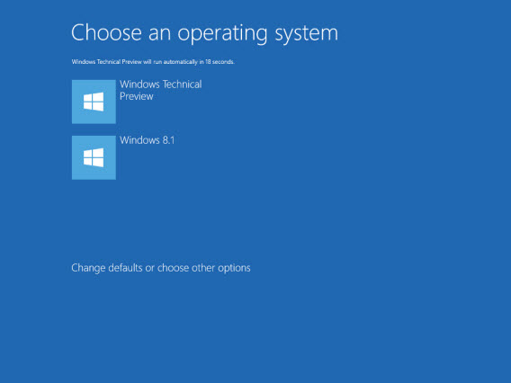 Window 10 install as dual boot