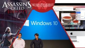 News des Tages: Windows 9 heißt 10, OS X Yosemite und Assassin's Creed für iPad