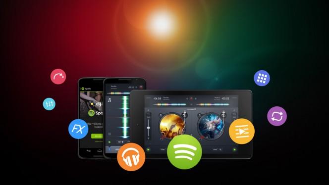 Die von Apple preisgekrönte DJ-App djay 2 ist endlich auch für Android erschienen