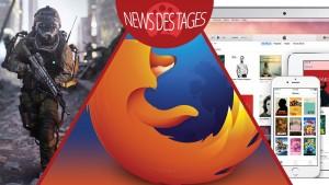 News des Tages: Probleme mit Firefox 33 beheben, iTunes 12, Call of Duty: Advanced Warfare