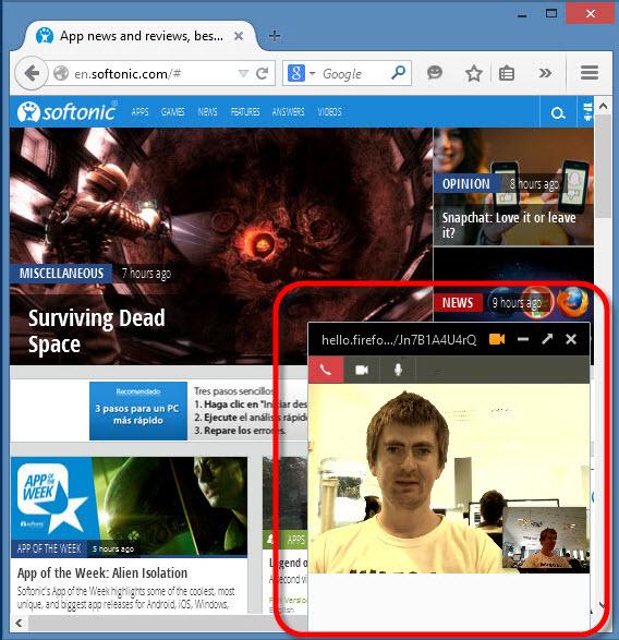 Firefox Hello WebRTC alternatywa dla Skype