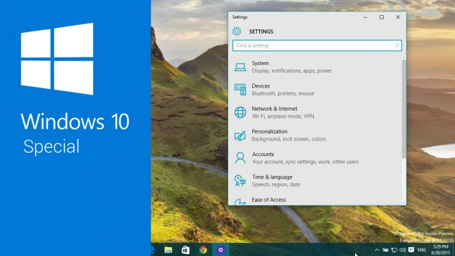 Windows 10 Special