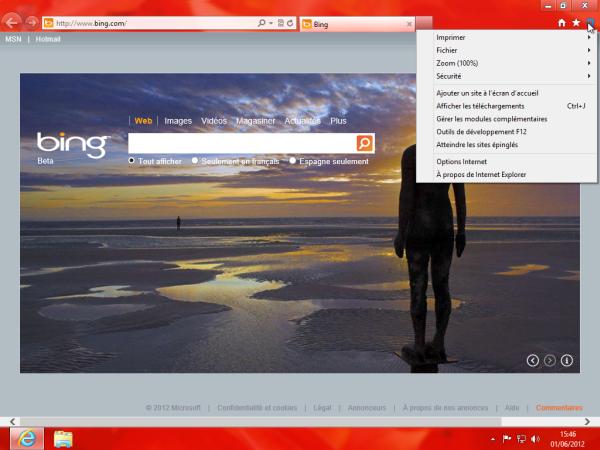 Guide de Windows 8 #9 : Internet Explorer 10 version Bureau