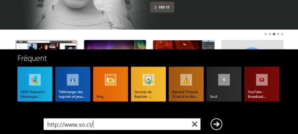 Guide de Windows 8 #9 : IE 10 sites fréquemment visités
