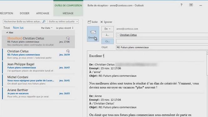 Cc Cci bien utiliser les champs d'adresse email avec Outlook Gmail