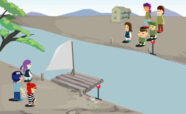 Jeu Flash du mercredi: River IQGame
