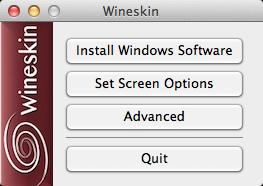 Ouvrir le paquetage (wrapper) et installer vos applications Window