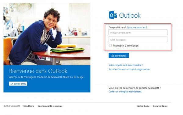 Comment désactiver Outlook.com et revenir à l'ancienne version de Hotmail?