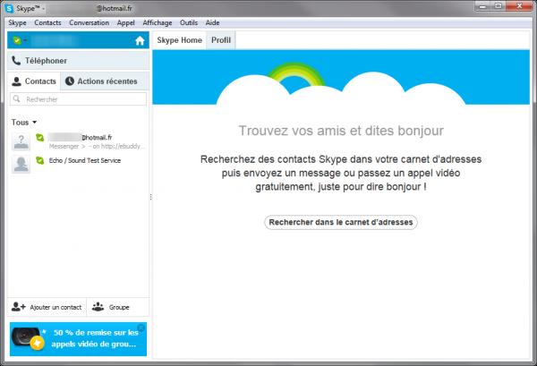 Disparition de MSN: comment utiliser Skype avec une adresse Hotmail