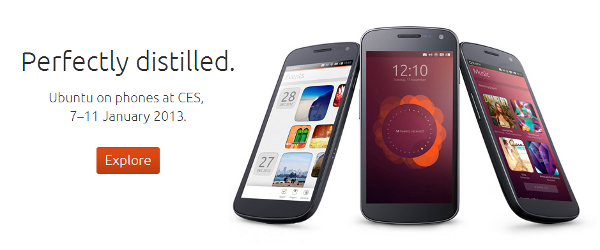 Ubuntu for Phones au CES
