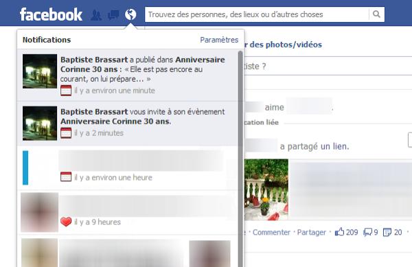 Mur Facebook