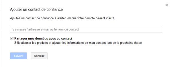 06 gestionnaire compte inactif google - notification