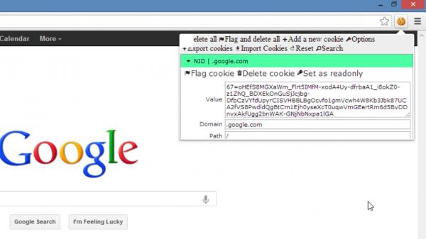 Changer le NID avec Edit This Cookie