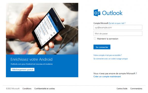 outlook.com guide tutoriel connection