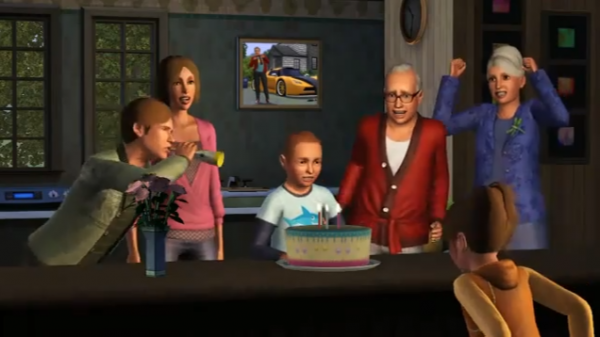 Logo les Sims