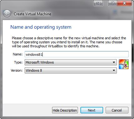 Installer Windows 8.1