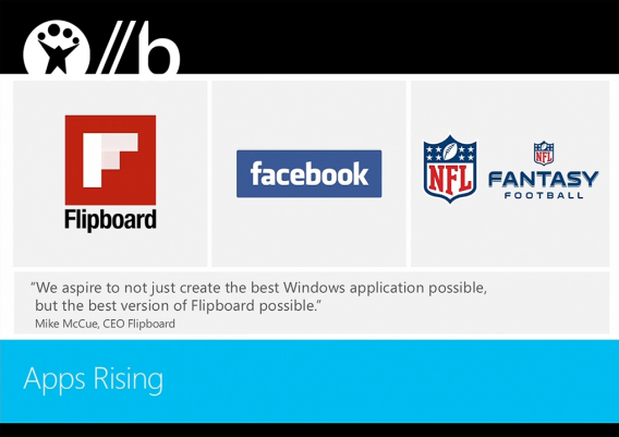 Applis Facebook Flipboard Windows 8.1