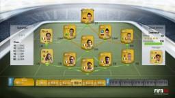 FIFA 14 Ultimate Team se dévoile: nouvelle interface, équipes flexibles...