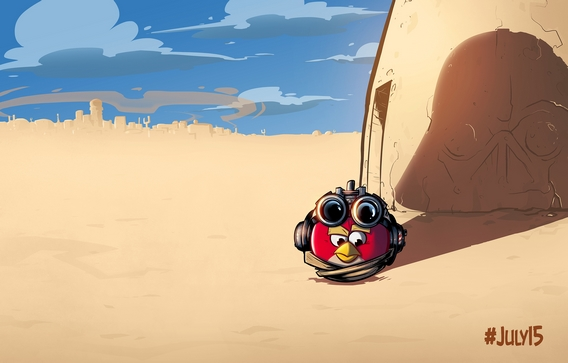 Angry Birds Star Wars une nouvelle versions ?