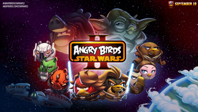 Angry Birds Star Wars II se met à jour avec de nouveaux personnages et niveaux