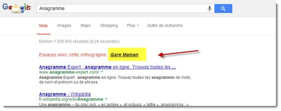 Google Easter Eggs exemple