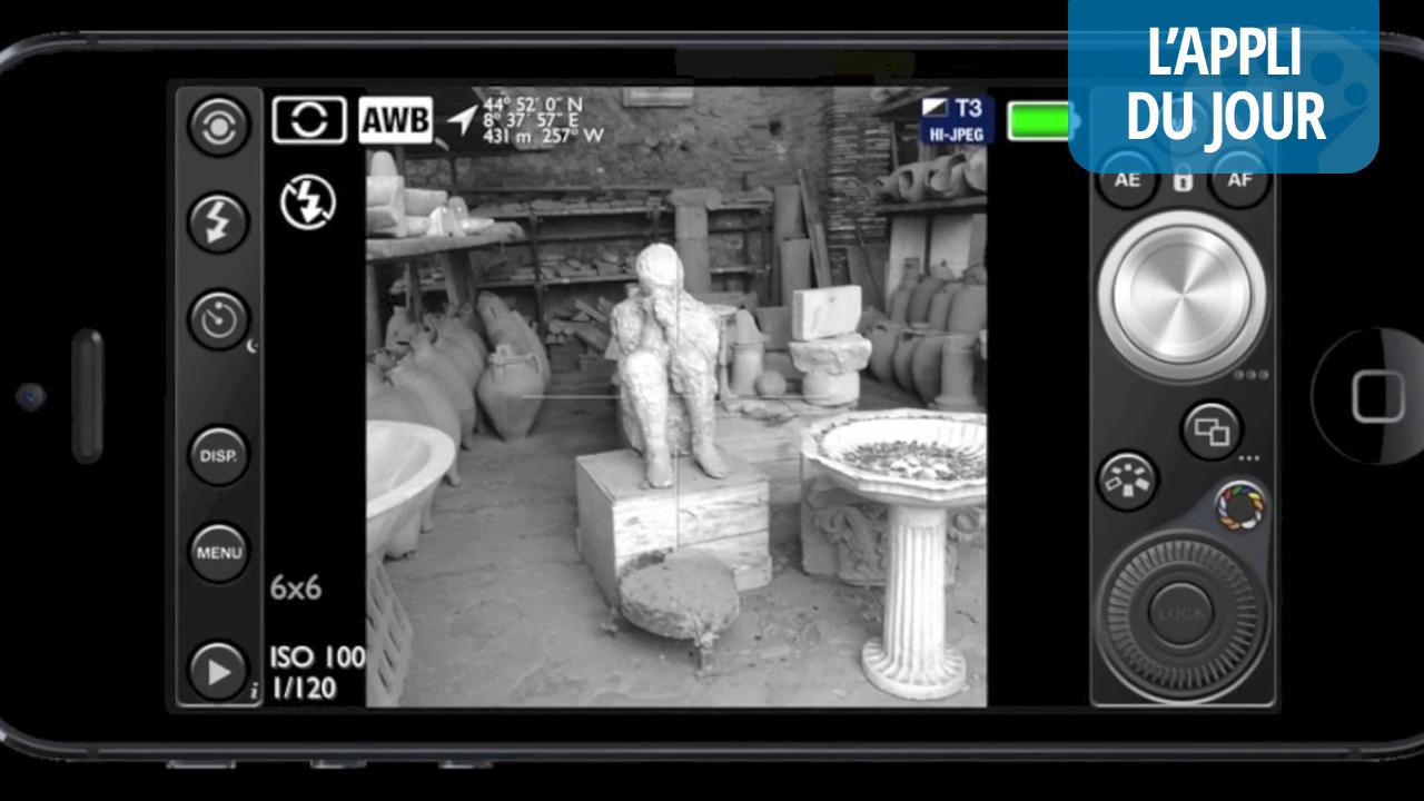 L'appli du jour: 645 PRO Mk II pour transformer votre iPhone en appareil photo reflex