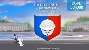 L'appli du jour: BattleParis, bataille sociale en plein Paris (iOS, web)