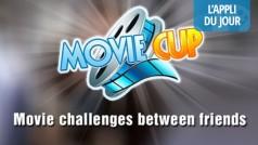 L'appli du jour : MovieCup le quiz cinéma entre amis (iOS, Android, Facebook)