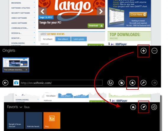 Comment créer une live tile pour votre site Web Softonic
