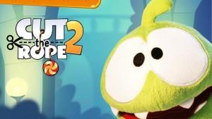 Retour d'Om Nom dans Cut The Rope 2 pour iPhone et iPad