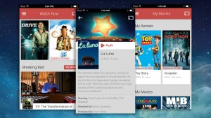 Google Play Films et TV débarque sur iPhone et iPad