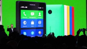 MWC 2014: Nokia se rapproche d'Android avec Nokia X