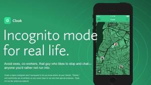 Cloak: l'appli iPhone pour tromper votre partenaire et éviter vos amis