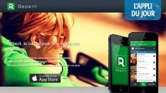 App du jour : le carnet d'adresse digital selon Reperli [iOS]