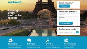 Après Viadeo, voici Amplement, le nouveau LinkedIn à la française