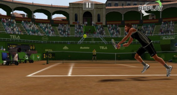 Application Virtual Tennis Challenge