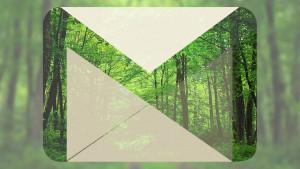Depuis dix ans que j'utilise Gmail, j'ai sauvé un arbre. Et vous?