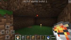 Minecraft Pocket Edition 0.9: une image dévoilée pour patienter