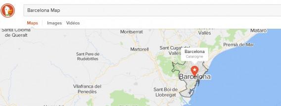 Barcelona Map  DuckDuckGo